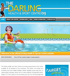 Darling Health & Sport Centre website