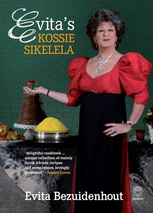Evita's Kossie Sikelela cookbook