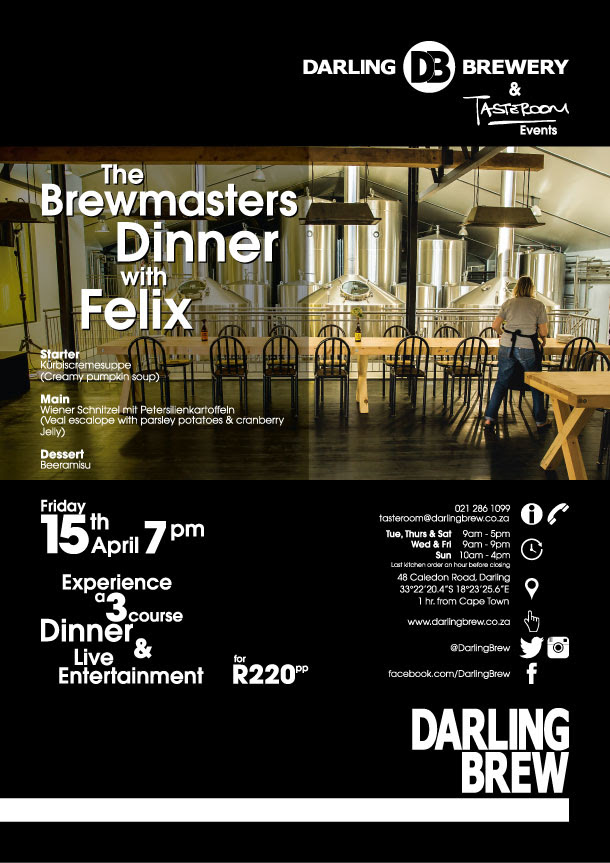 brewmasters dinner with felix